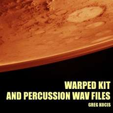 Warped Kit And Percussion wav files